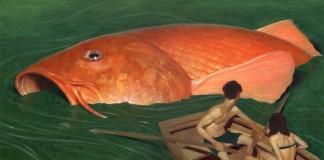 Goldfish - Painting by Jeremy Enecio