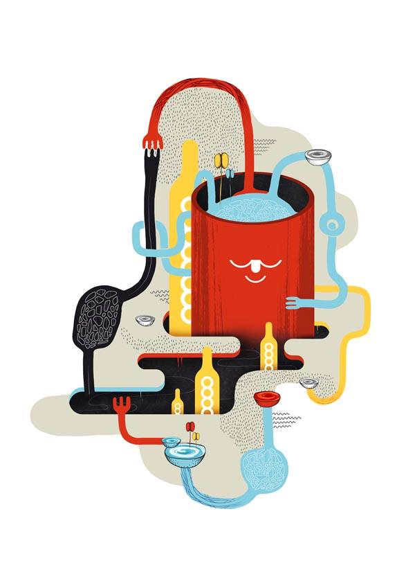 Graphic Artwork by Mathieu Clauss