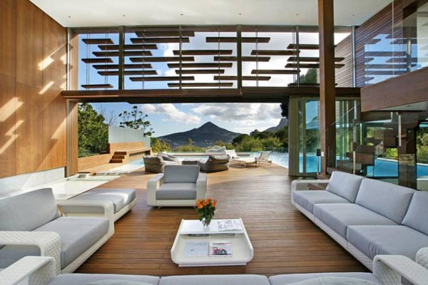 Inside the Spa House in Cape Town, South Africa by Metropolis Design