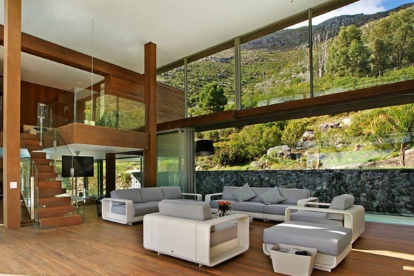 Spa house in cape town south africa by metropolis design for Interior designs south africa