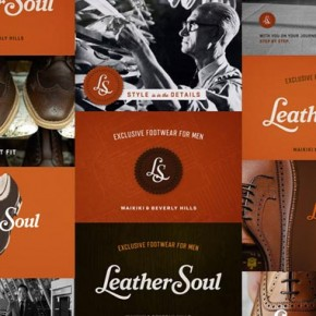 Leather Soul Invitation Package Design by Wall to Wall