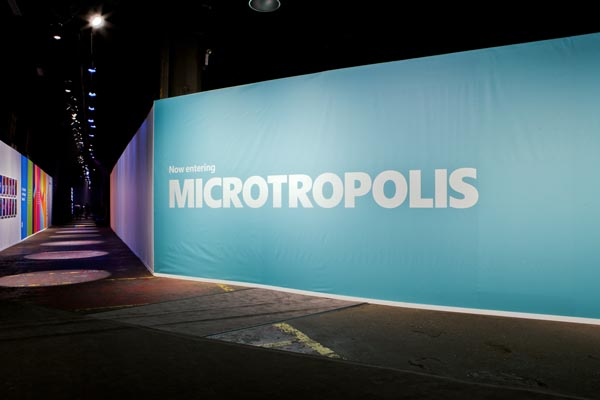Microsoft's Microtropolis Event - Design by Mother Design