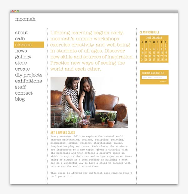 Moomah Website - Web Design by Apartment One