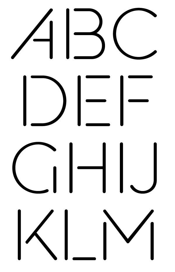 Muirside Font by Steven Bonner