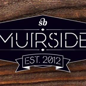 Muirside - Stencil Font by Steven Bonner