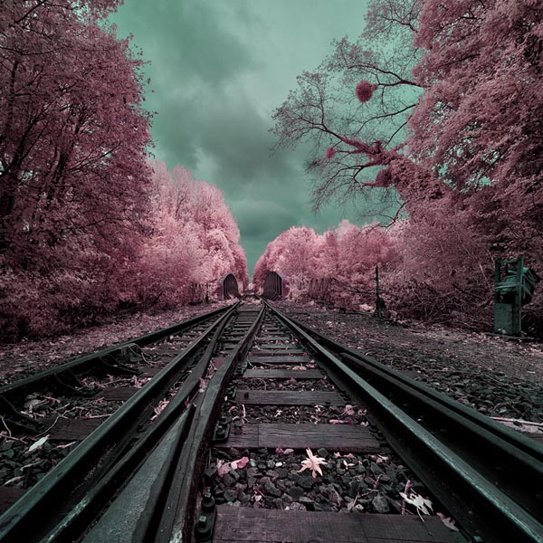 My Magical Railway - Infrared Landscape Photography by David Keochkerian