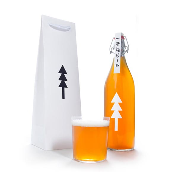 One Pine Tree Beer Packaging Design by Kota Kobayashi