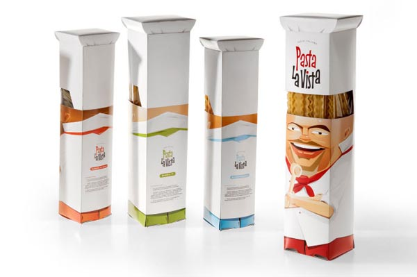 Outstanding Package Design for Pasta La Vista by Andrew Gorkovenko