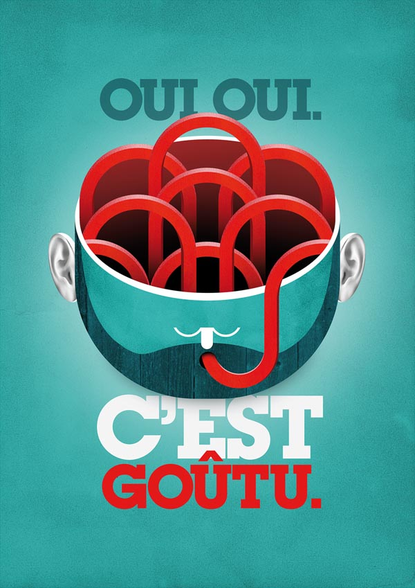 Poster Illustration by Mathieu Clauss