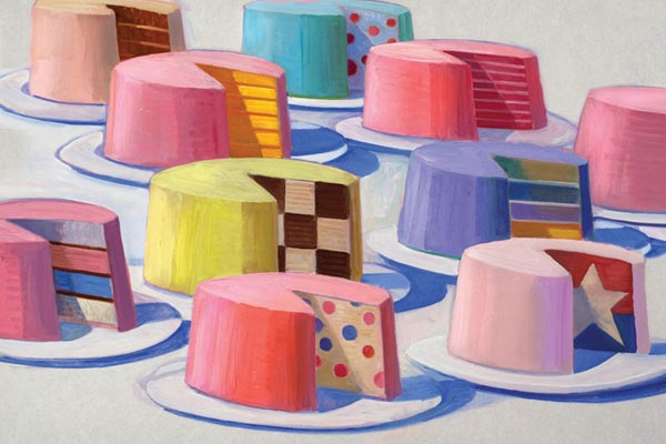Same but Different - Cake Paintings by Robert_Hunt
