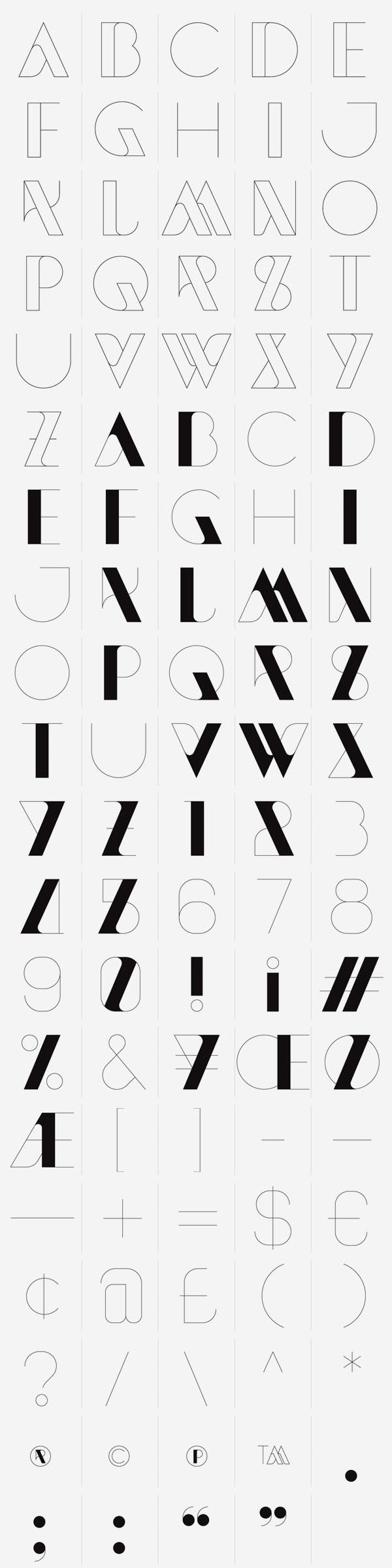 Sawdust NewModern Typeface