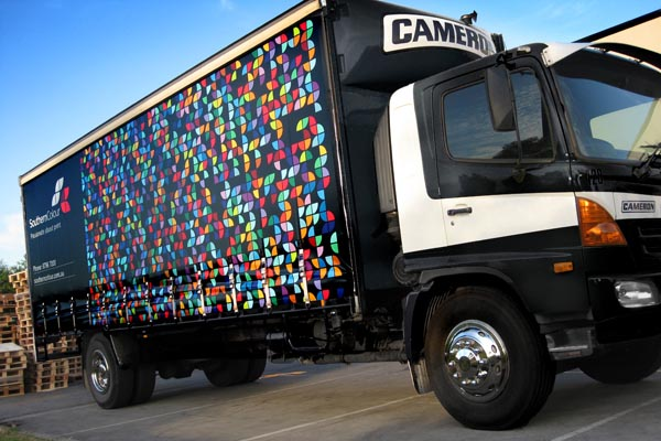 Southern Colour Corporate Truck Design