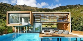 Spa House in Cape Town, South Africa by Metropolis Design