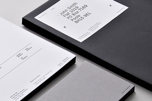 Two Times Elliott - Corporate Stationery - Detail View