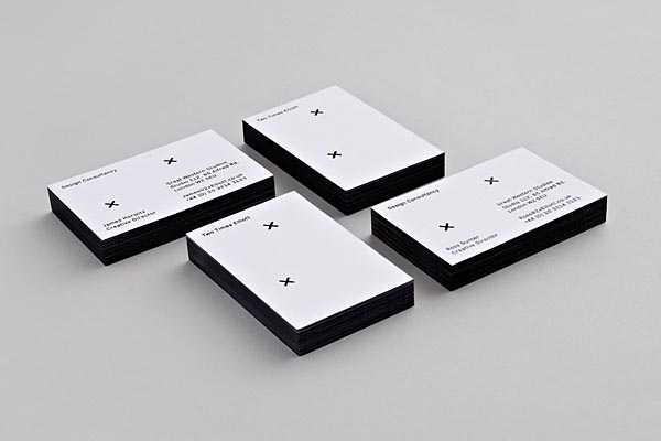 Two Times Elliott - Minimalist Business Cards