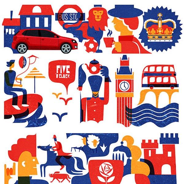 Volkswagen on Look at me - United Kingdom Illustrations by Iv Orlov