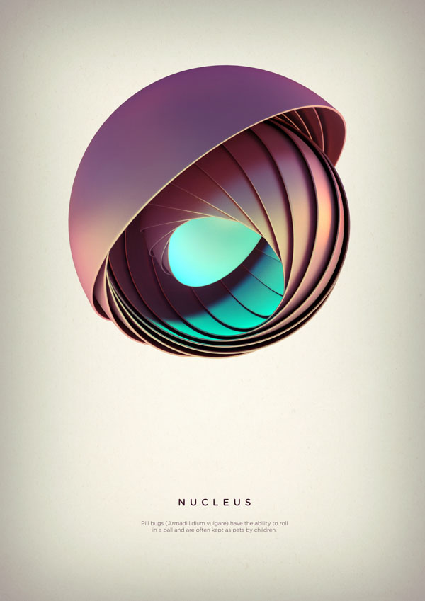 Nucleus - Digital Art by Črtomir Just