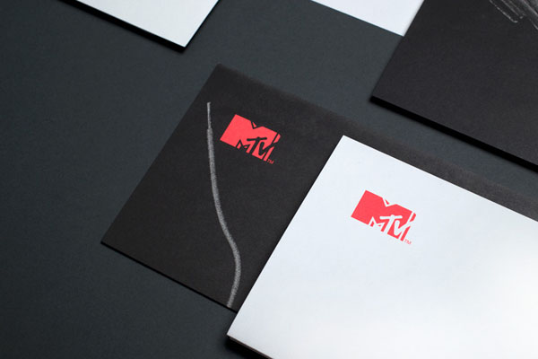 MTV Stationery Corporate Stationery Design by Motherbird