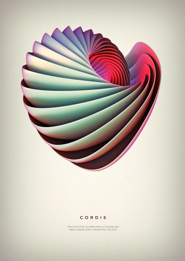 Cordis - Digital Art by Črtomir Just