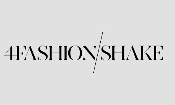 4Fashion Shake Logo Design by Hellopanos