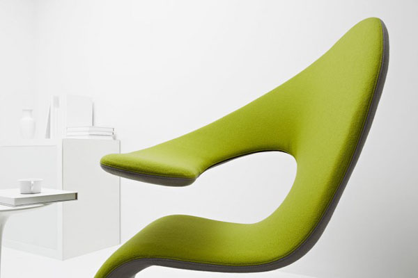 Aleaf - flexible chaise longue and armchair - detail view