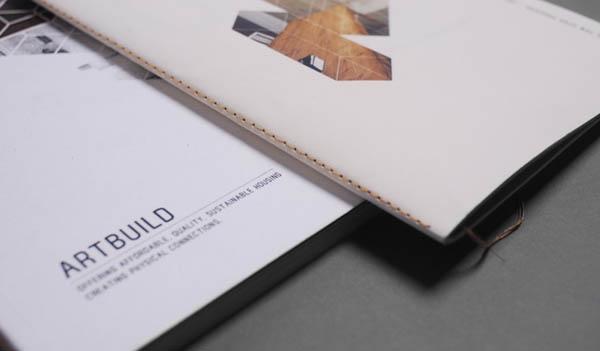 Artbuild Identity Design by Jonti Griffin