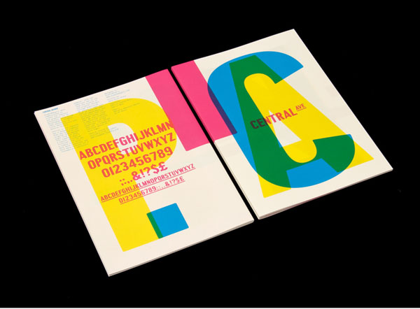 Central Avenue Type Specimen by StudioMakgill