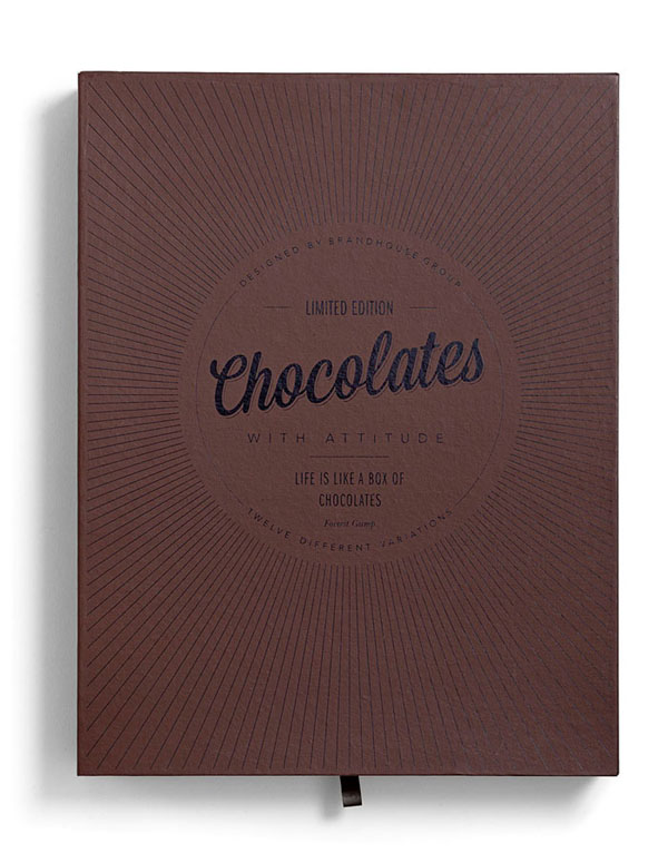 Chocolates With Attitude - Package Design by Bessermachen Design Studio