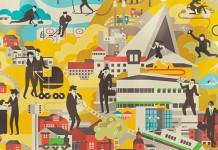 City of Hyvinkää Illustration by Vesa Sammalisto