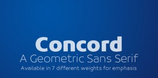 Concord Type Family by Soneri Type