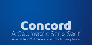 Concord Type Family by Soneri Type