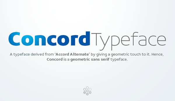 Concord Typeface by Soneri Type