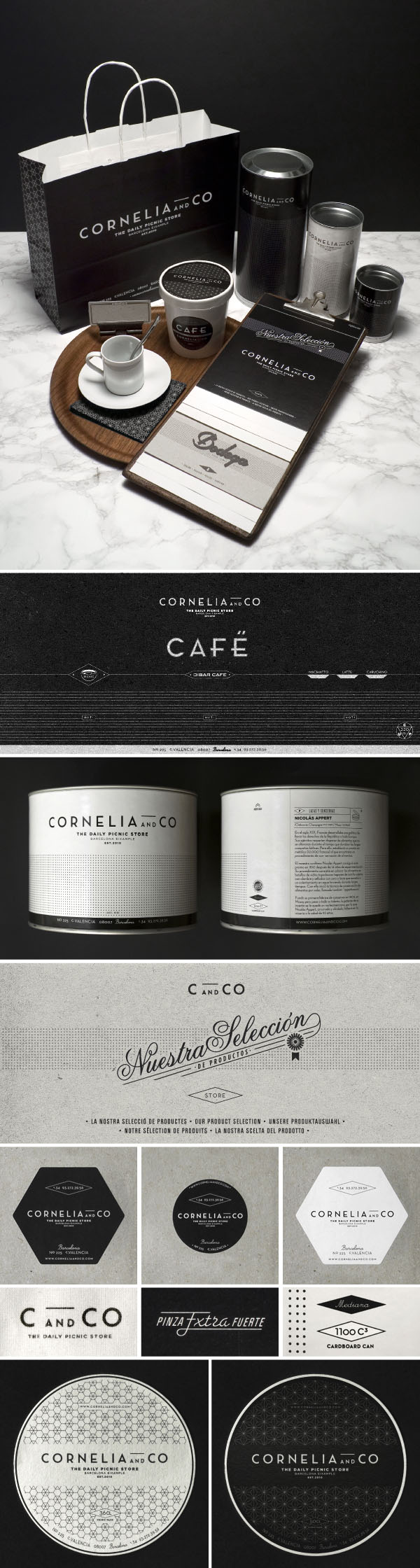 Cornelia and Co Brand and Package Design by Oriol Gil