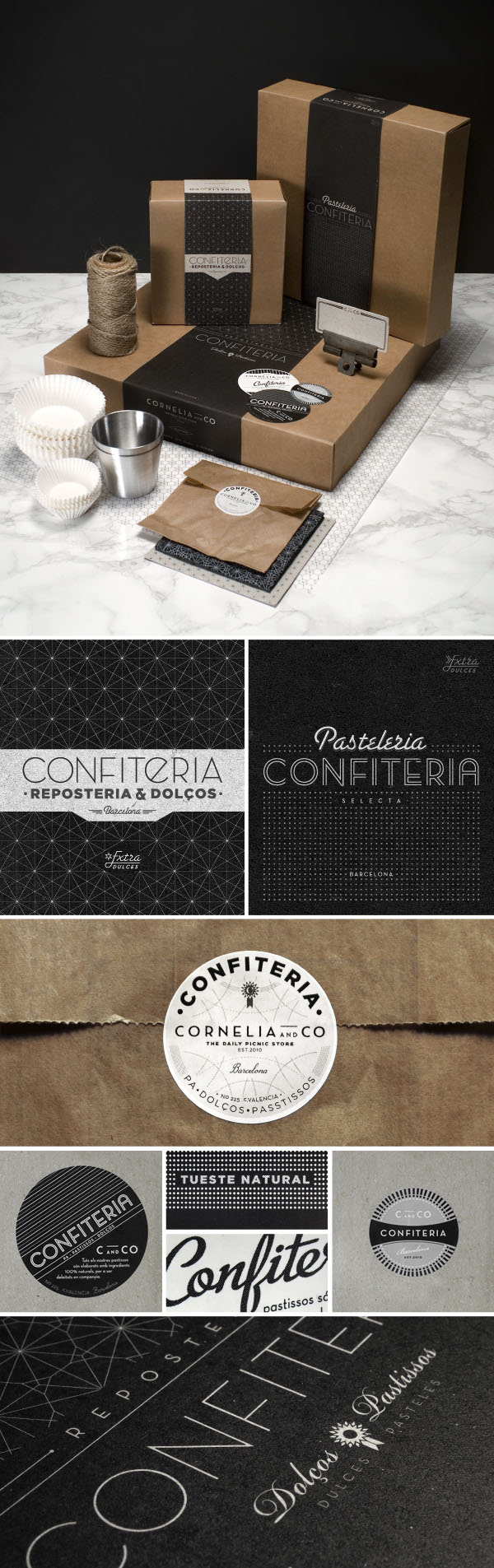 Cornelia and Co - Branding and Packaging by Oriol Gil