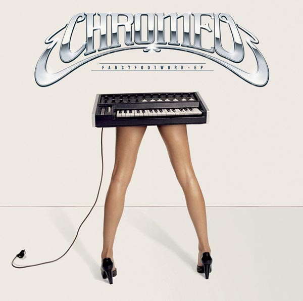Fancy Footwork album artwork by Charlotte Delarue for Chromeo, with Surface to Air