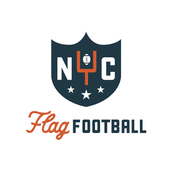 Flag Football league Logo by Dustin Wallace