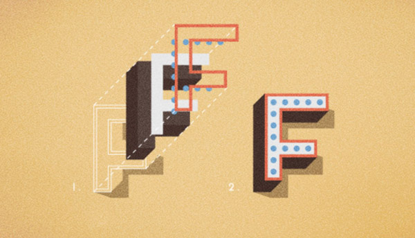 Frontage - 3D layered type system by Juri Zaech