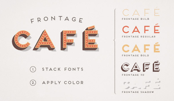 Frontage - layered type system by Juri Zaech