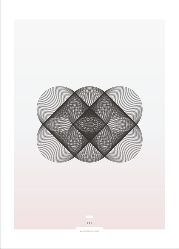Geometric Exercises - Graphic Poster Design by Sebastián Correa
