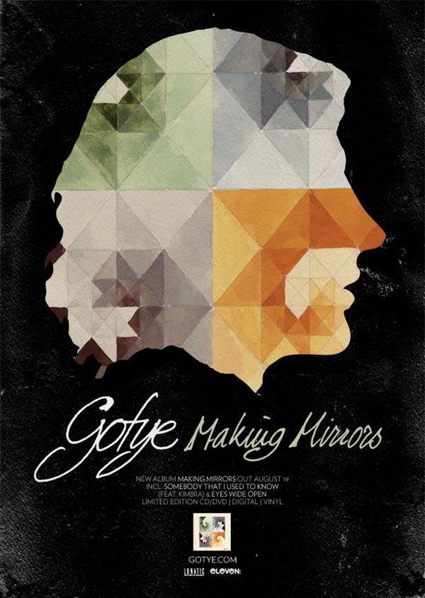 Gotye Tour Art And Album Promo Design By WBYK