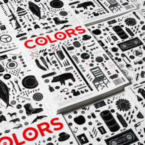 Graphic Design for Colors Magazine by Felipe Rocha at Fabrica