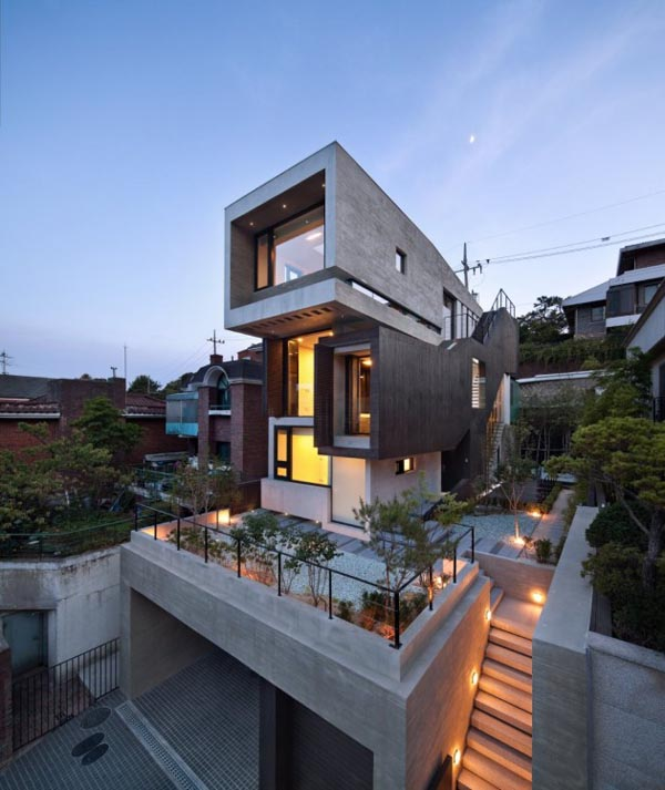 H-House in Seoul, Korea by design group bang by min