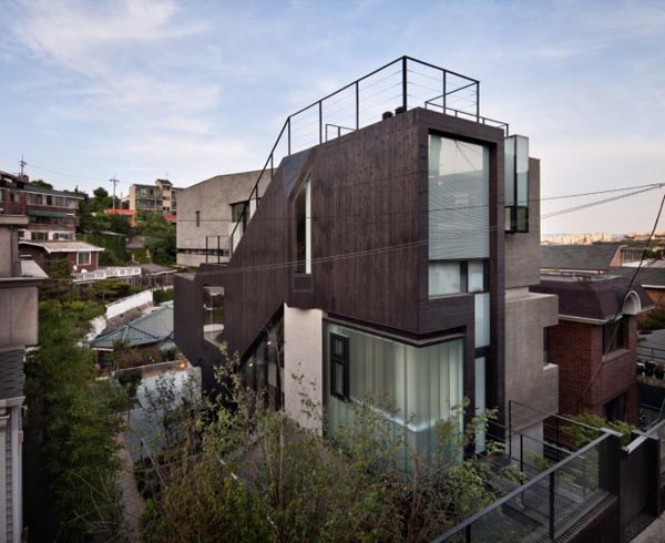 Modern Architecture In Korea By Design Group Bang By Min