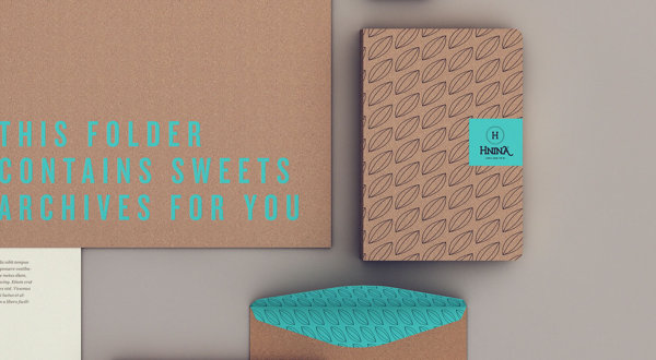 Hnina - Healthy Chocolates - Stationery by Isabela Rodrigues - Sweety Branding Studio