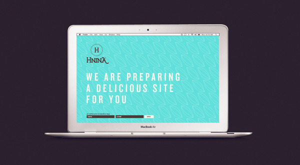 Hnina - Healthy Chocolates - Website Design by Isabela Rodrigues - Sweety Branding Studio