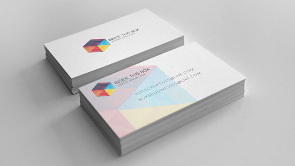 Inside This Box Business Card Design by Jorgen Grotdal