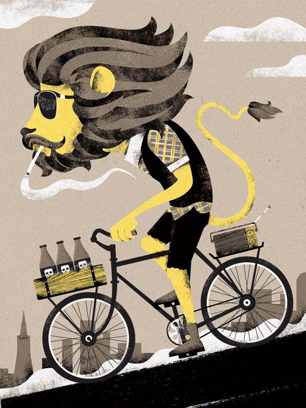 King of the Mission - for ArtCrank 2011 - Poster Illustration by I Shot Him