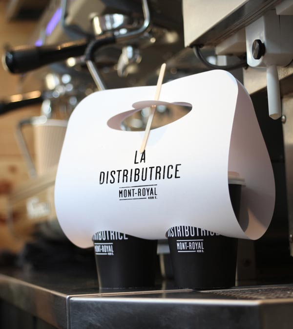 La Distributice - Coffe Mug Packaging