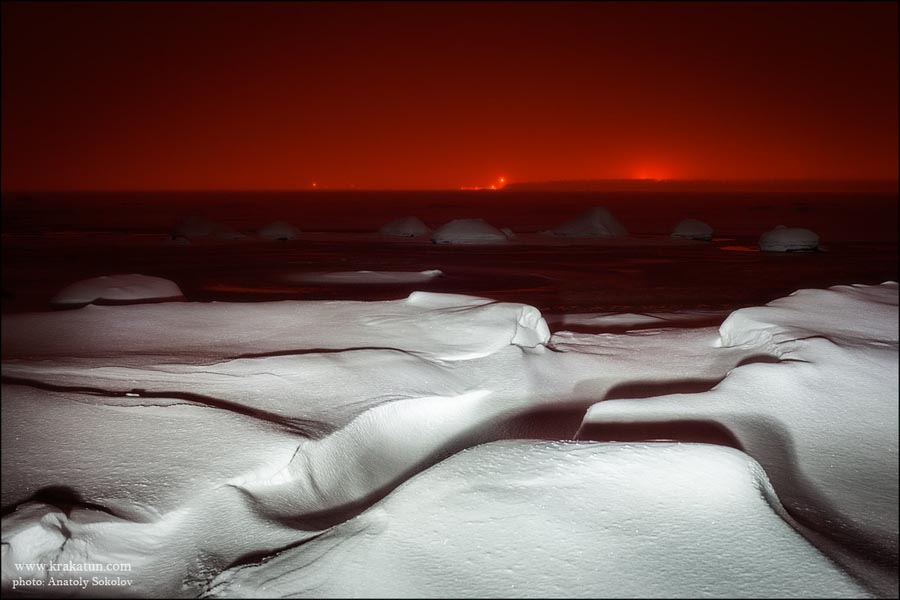 Landscape Photography of Snow and Ice by Anatoly Sokolov
