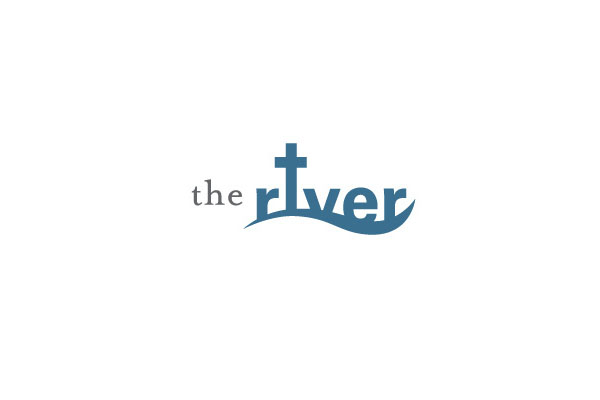 Logo Design by Wallace Design House for The River - a contemporary service